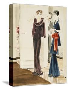 Vogue - September 1934 by René Bouét-Willaumez