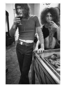 GQ - April 1971 by Rene De Bauge-Cahan