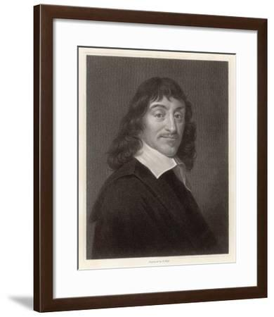 Rene Descartes French Mathematician and Philosopher-William Holl the Younger-Framed Giclee Print
