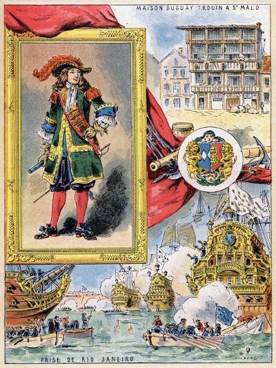 René Duguay-Trouin, French Corsair of Saint-Malo, 1898--Giclee Print