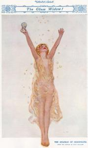 The Sparkle of Champagne by Rene Fallaire by Rene Fallaire