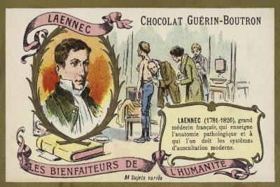 Rene Laennec, French Doctor and Inventor of the Stethoscope--Giclee Print