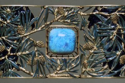Plaque for Eagles and Pine Choker, C1899-1901