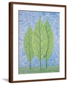 La belle saison by Rene Magritte