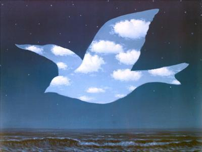 La Promesse by Rene Magritte