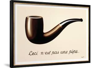 La Trahison des Images by Rene Magritte