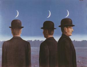 Le Chef d'Oeuvre Ou les Mysteres de l'Horizon, c.1955 by Rene Magritte