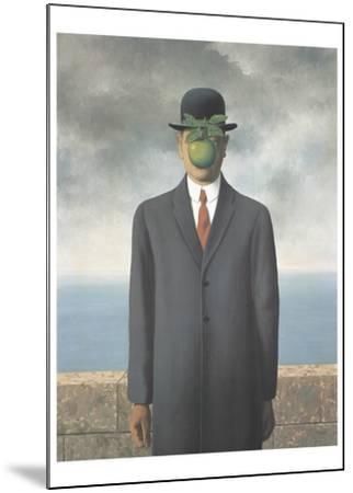 Le Fils de L'Homme (Son of Man) by Rene Magritte