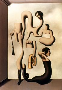 Magritte: Acrobat's Ideas by Rene Magritte
