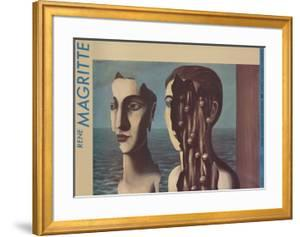 The Double Secret by Rene Magritte