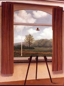 Man's Fate by Rene Margritte