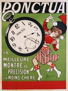Ponctua Poster by Rene Prejelan