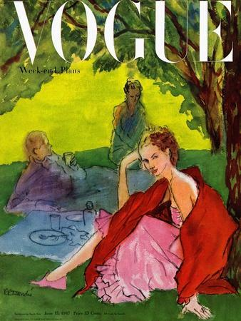 Vogue Cover - June 1947