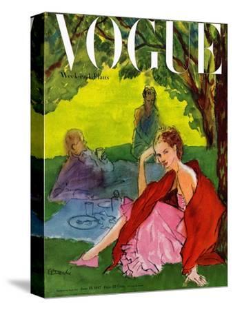 Vogue Cover - June 1947