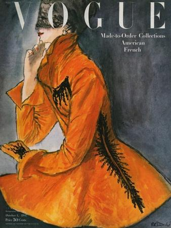 Vogue Cover - October 1947