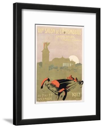 Salon De L'Automobile Poster