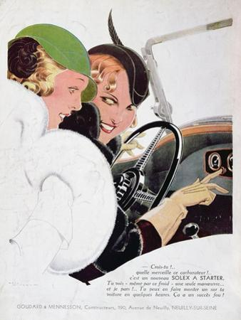Advertisement for Solex Carburettors, from 'Vogue' Magazine, January, 1932