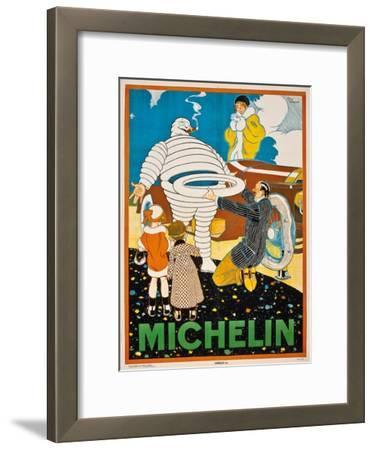 Advertising Poster for Michelin, C. 1925