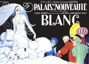 Palais de la Nouveaute, Blanc by René Vincent
