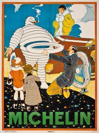 Werbeplakat für 'Michelin'. Ca. 1925