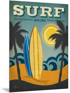 Surf Malibu by Renee Pulve