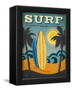 Surf Malibu by Renee Pulve