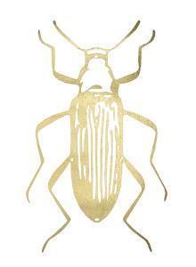 Gold Foil Beetle I by Renée Stramel