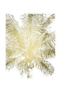 Gold Foil Palm I by Renée Stramel