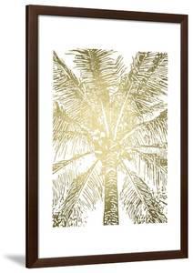 Gold Foil Palm III by Renée Stramel