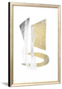 Multi Foil Crescent I by Renée Stramel