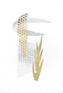 Multi Foil Crescent II by Renée Stramel