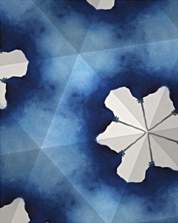 Indigo Daydream IV by Renee W^ Stramel