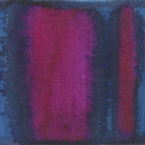 Indigo Meditation I by Renee W^ Stramel