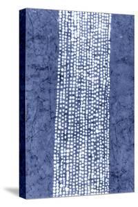 Indigo Primitive Patterns VI by Renee W^ Stramel