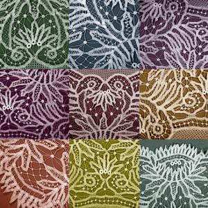 Lace Sampler by Renee W^ Stramel