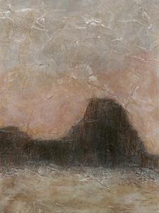 Misty Morning Mesa I by Renee W^ Stramel
