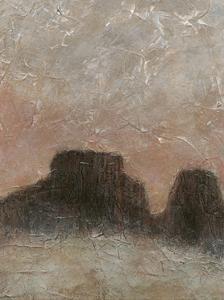 Misty Morning Mesa II by Renee W^ Stramel