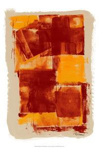 Monoprint I by Renee W^ Stramel