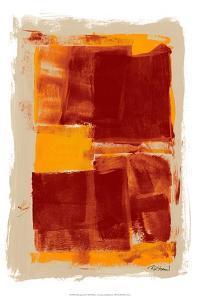 Monoprint II by Renee W^ Stramel