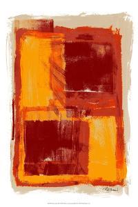 Monoprint III by Renee W^ Stramel