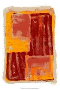 Monoprint IV by Renee W^ Stramel