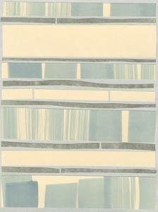Ocean Inlay I by Renee W^ Stramel