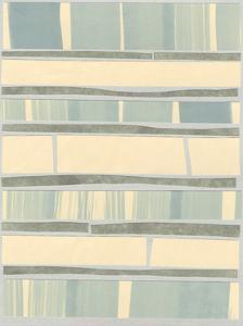 Ocean Inlay II by Renee W^ Stramel
