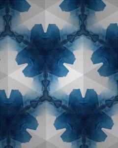 Sapphire Frost II by Renee W. Stramel