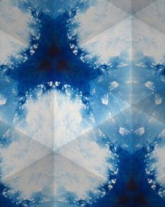 Sapphire Frost IV by Renee W. Stramel