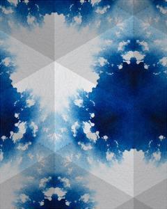 Sapphire Frost V by Renee W. Stramel