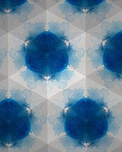 Sapphire Frost VI by Renee W. Stramel