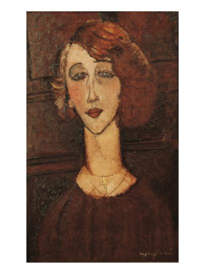 Renée-Amedeo Modigliani-Art Print