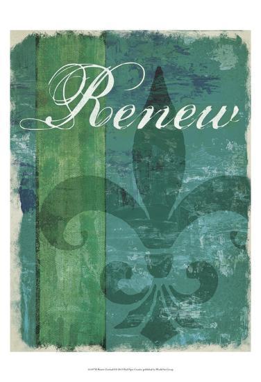 Renew - Unwind I--Art Print