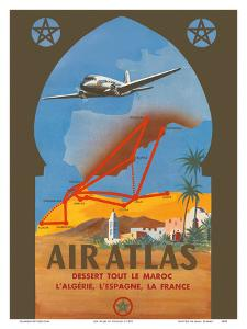 Air Atlas - Services All of Morocco, Algeria, Spain, France by RENLUC